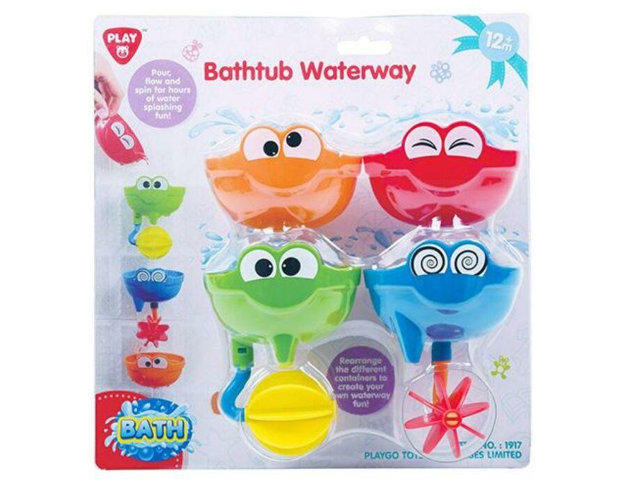 Playgo Mókás arcok fürdőjáték