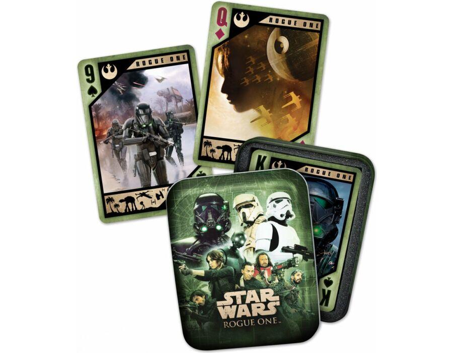 Star Wars Zsivány Egyes póker kártya fém dobozban
