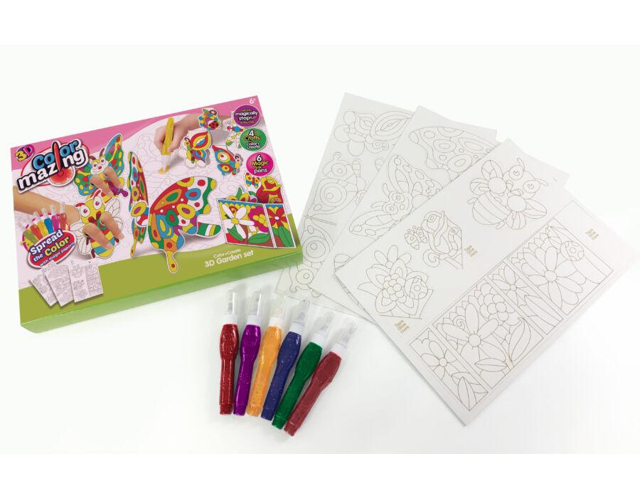 ColourMazing - 3D kerti szett