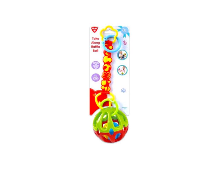 Playgo Többfunkciós csörgőlabda