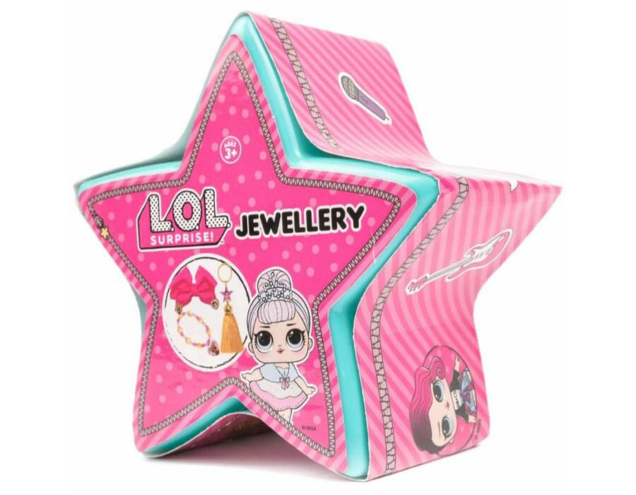 LOL Surprise: Meglepetés csillag - Közepes ékszer, többféle