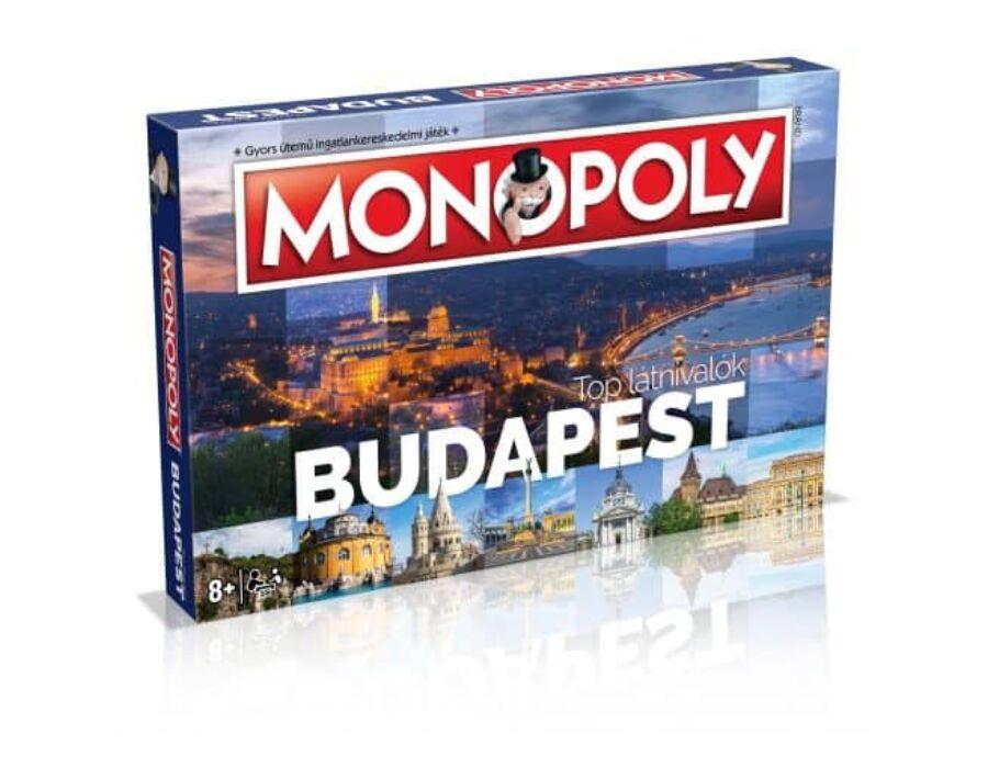 Monopoly - Budapest társasjáték
