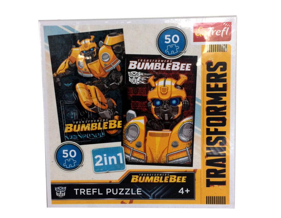 2 az 1-ben puzzle - Transformers - Trefl