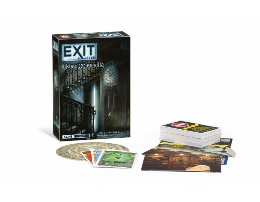 EXIT 10. A kísérteties villa társasjáték
