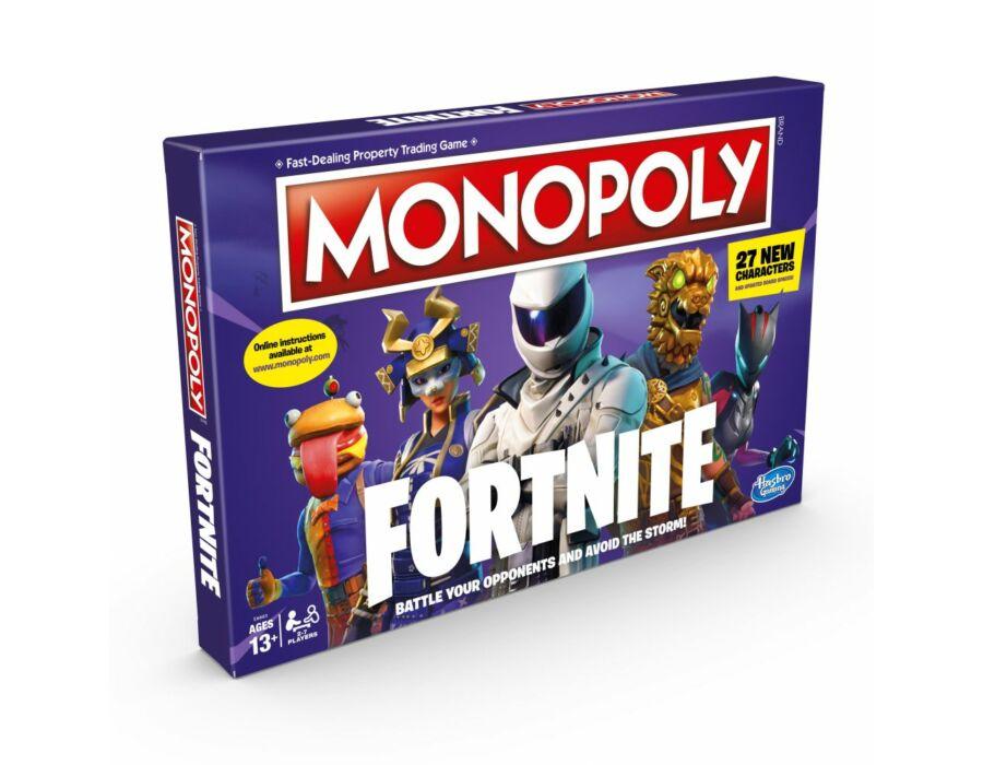 Monopoly Fortnite - angol nyelvű társasjáték